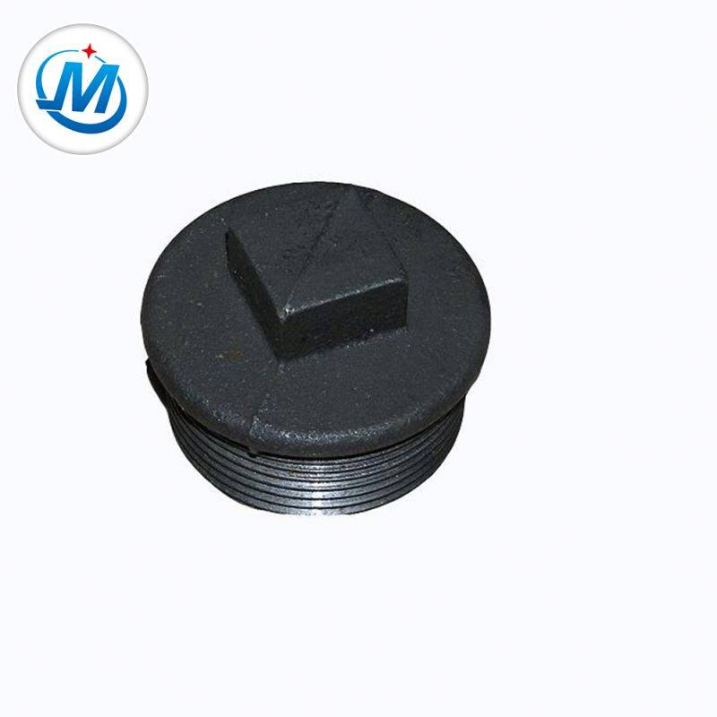 ISO 9001 Certification Connect Oil Use Factory Price NPT Standard Pipe Fitting Iron Plug