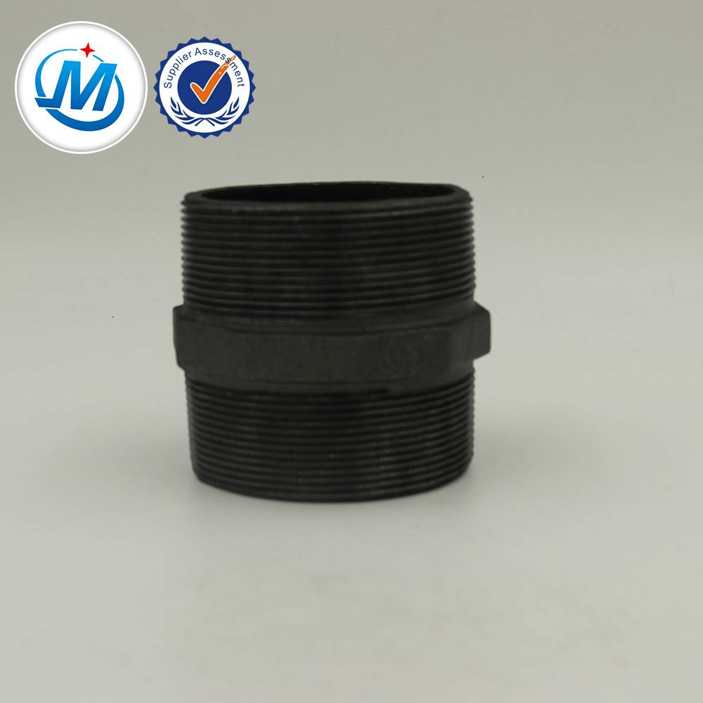 No.280 Hexagon Nipples Malleable Iron Casting Pipe Fittings