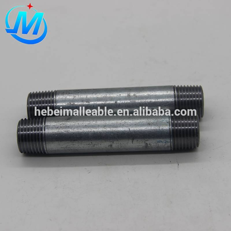 "2""galvanized pipe nipples"