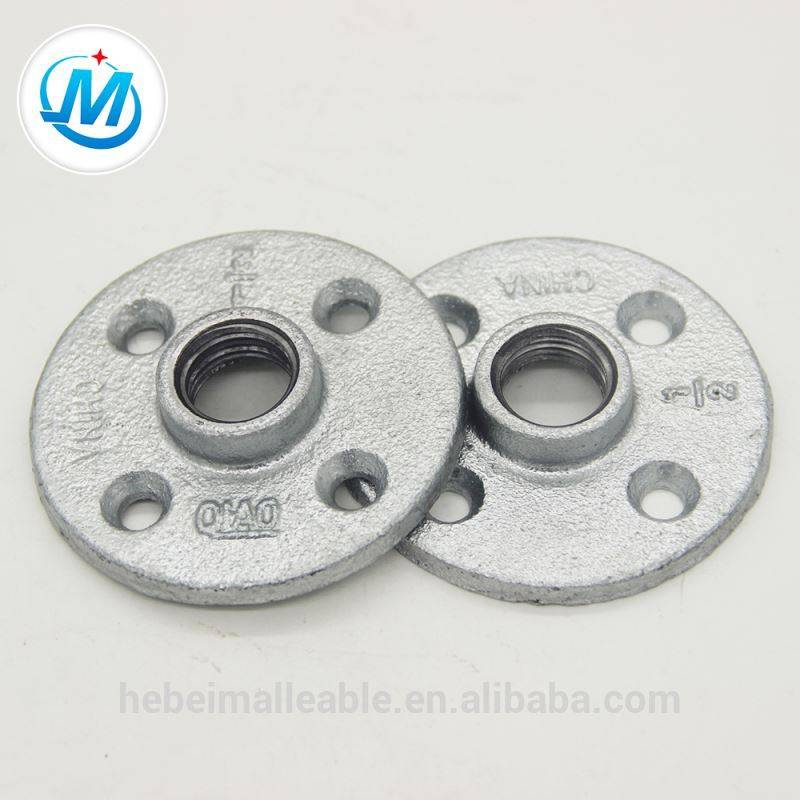 promotional best quality gi flange with iso 9001