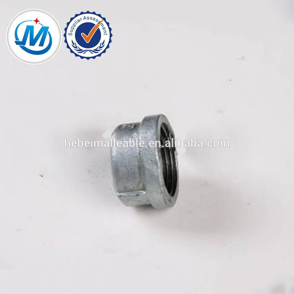 malleable iron pipe fitting ball end screw NO.301cap