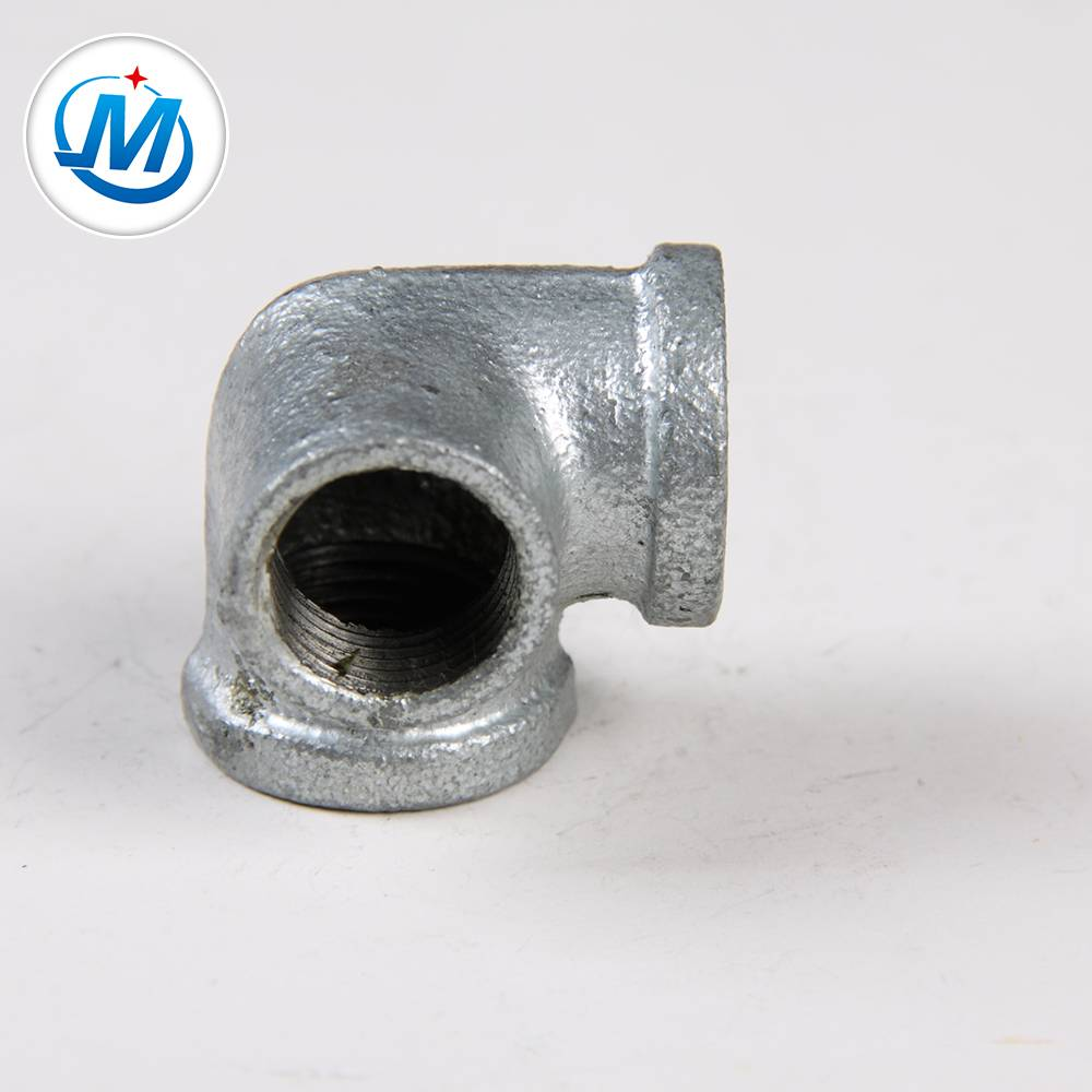 gi pipe fittings heavy duty malleable iron pipe fittings in fire side outlet elbow