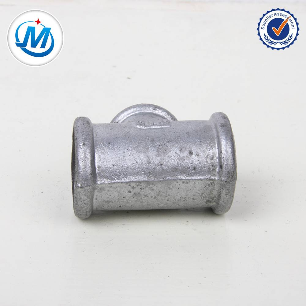 GI Malleable Iron Pipe Fittings 2 Inch Equal Tee