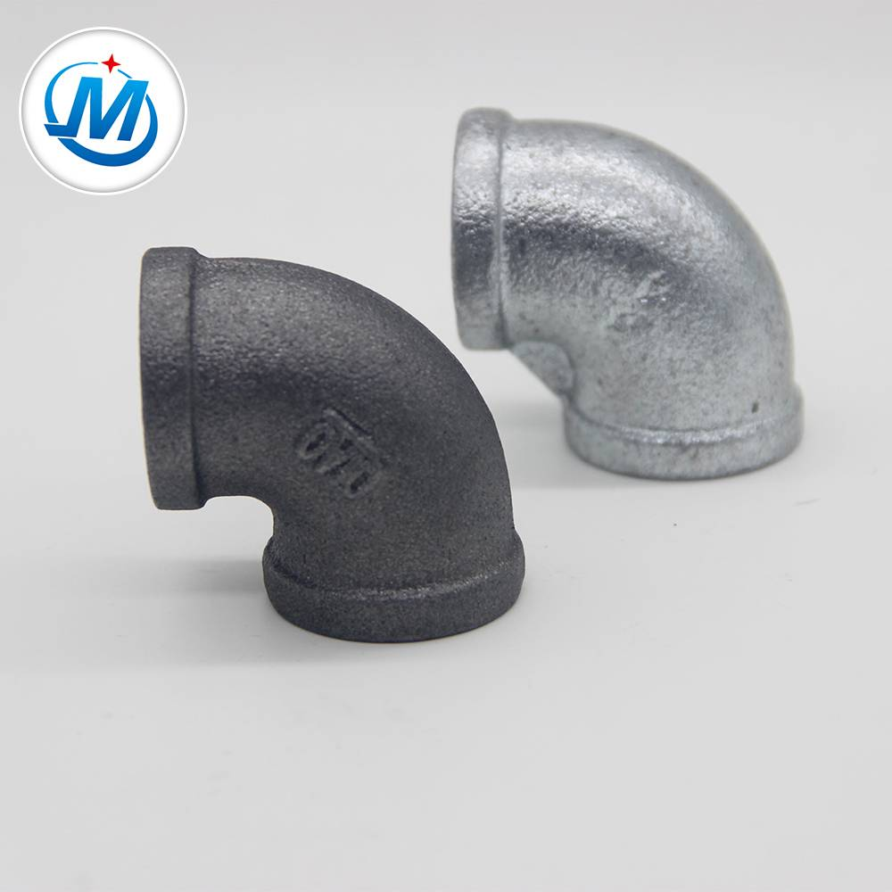 QIAO brend FIg No.90 lakat vruće umočen pocinčane Temper Iron Pipe Fittings