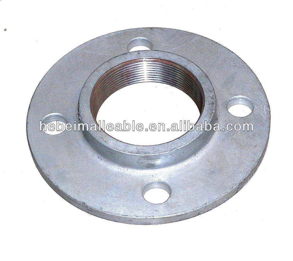 malleable iron pipe fittings floor flange