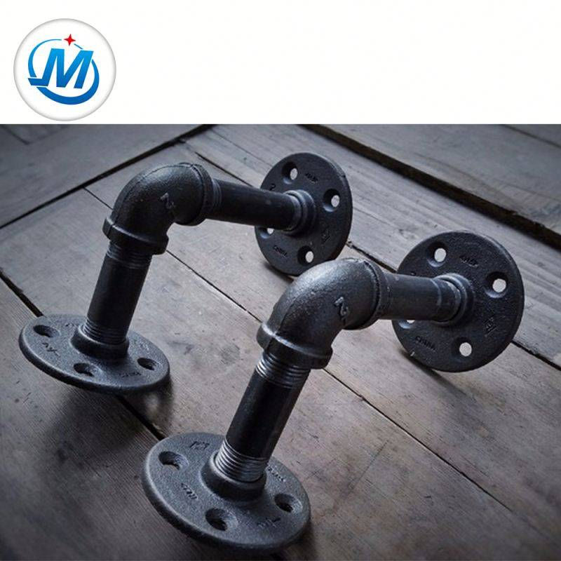 black galvanized malleable cast iron pipe fittings cross