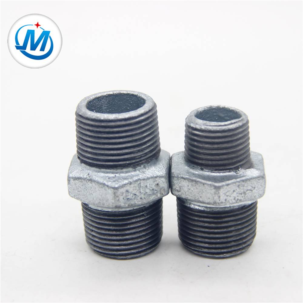 BV Certification For Oil Connect Casting Iron Hexagon Nipple