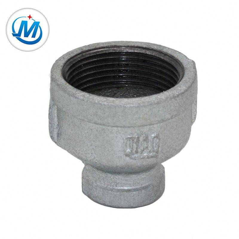Malleable Iron Pipe Fittings Galvanized Reducing Socket Banded