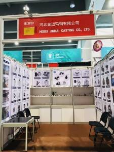 Malleable iron pipe fitting supplier–Hebei Jinmai Casting Co.,Ltd-Canton Fair invitation