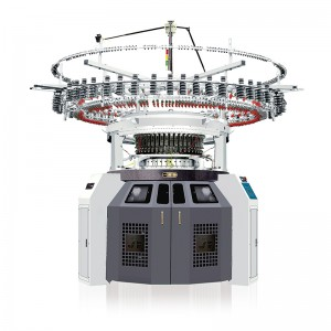 SINGLE/DOUBLE JERSEY COLOR AUTO STRIPPER CIRCULAR KNITTING MACHINE