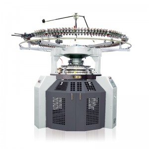 DOUBLE JERSEY HIGH PILE PLUSH CIRCULAR KNITTING MACHINE