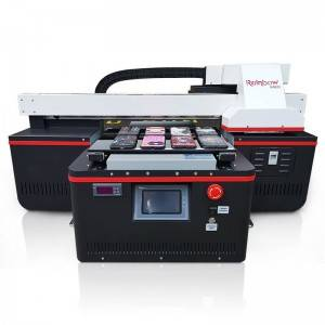 High resolution China Factory A3 Automatic 3D Effect Printing Machine UV Printer with Varnish
