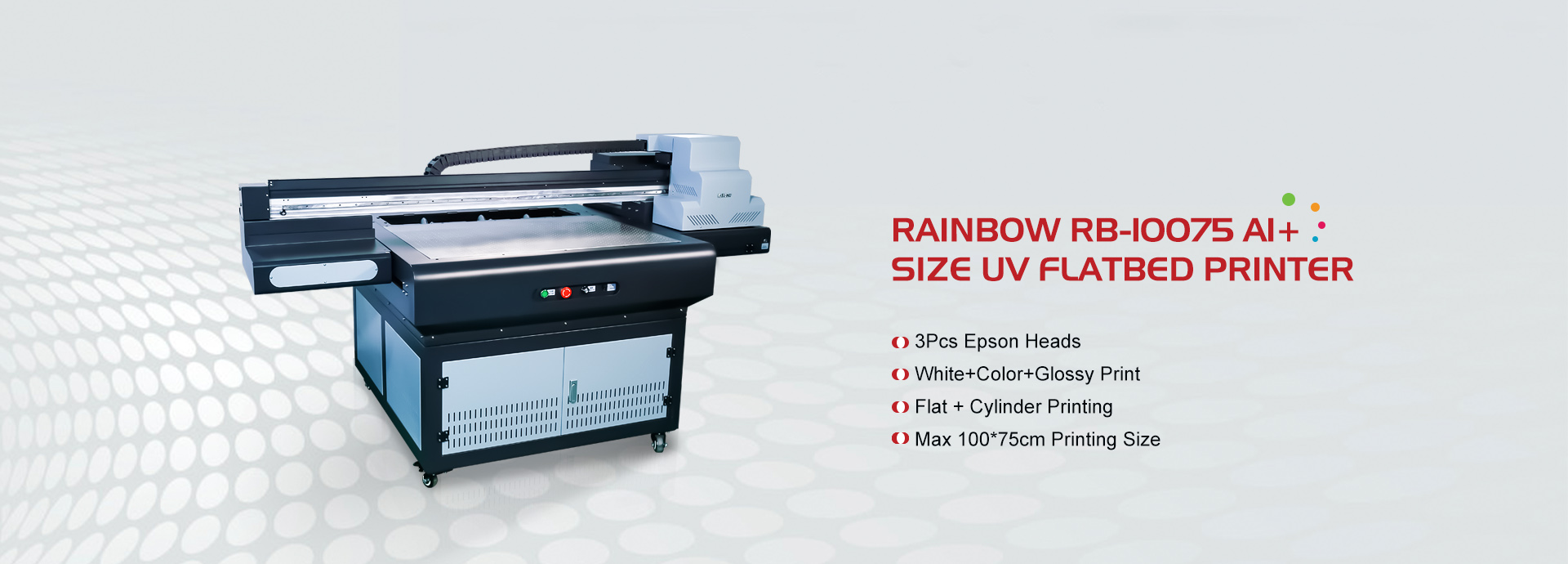 UV flatbed printer masjien
