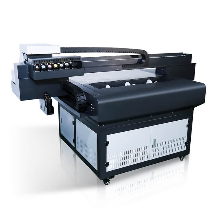 Factory Free sample Desktop Aluminium Sheet Printing Machine Xp600 Head Uv Flatbed Printer 6090 With Vanish Featured Image