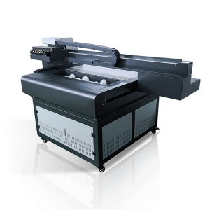 Factory Free sample Desktop Aluminium Sheet Printing Machine Xp600 Head Uv Flatbed Printer 6090 With Vanish