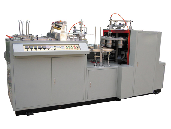LBZ-LC Single Side PE ditutupi Paper Bowl mbentuk Machine