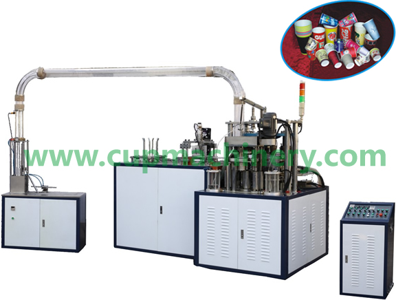 LBZ-Lab zvakazara kwangoitwa HIGH-SPEED PAPER Cup MACHINE
