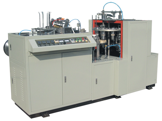 OEM/ODM Supplier Waste Paper To Pulp - LBZ-LA Singe-side-PE-coated Paper Cup Forming Machine – Luzhou