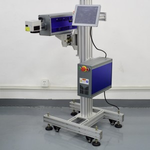 Flying Co2 Laser marking machine