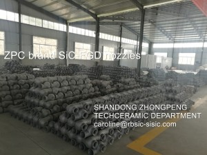 Silicon Carbide Spray nozzles manufacturer