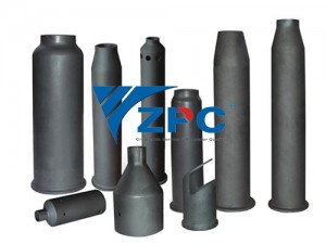 Silicon Carbide burner nozzles and pipe