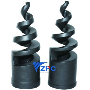 High Quality Gas Burners Jet - 2.5 inch SiSiC nozzle – ZhongPeng