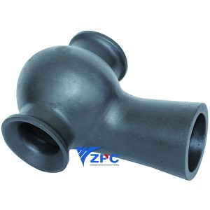 Silicon carbide spray nozzles for Gas Scrubbing Applications