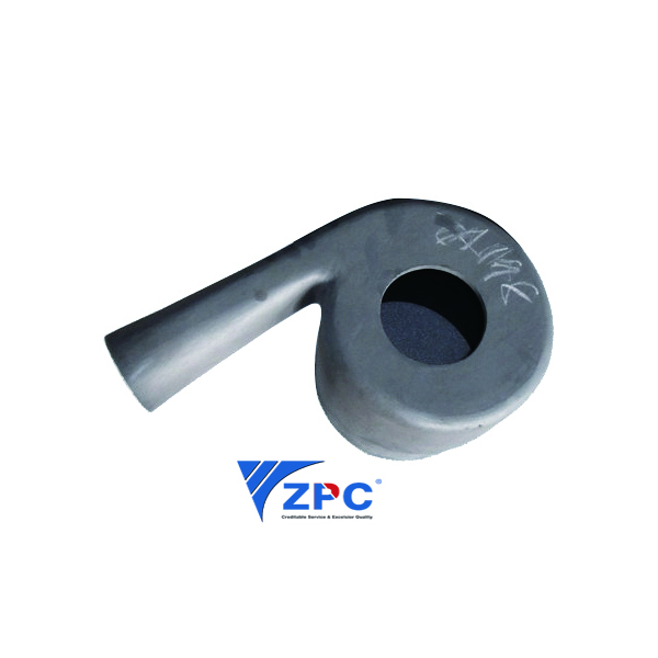 Leading Manufacturer for Sic Body Armor Plates For Safety Gear - RBSiC cyclone inlet – ZhongPeng Featured Image