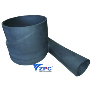 Reaction bonded Silicon Carbide Cyclone Entrance