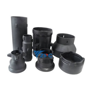 Online Exporter Liquid Dispensing Nozzle - RBSiC (SiSiC)  Radiant tube, Reaction bonded silicon carbide kiln furniture – ZhongPeng