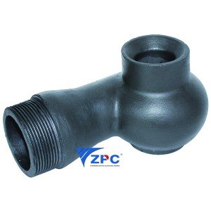 Quality Inspection for Silicon Carbide Wear-Resistant Part - Vortex solid cone nozzle – ZhongPeng