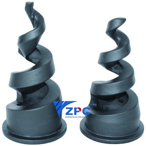 IOS Certificate Pool Pulsed Nozzle - 4 inch Reaction Bonded Silicon Carbide Nozzle – ZhongPeng