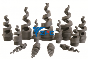 Silicon Carbide Full Cone Sprial nozzle
