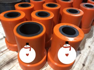 Wear Resistant SiCPU Silicon Carbide Poly Spigot and Cone liner