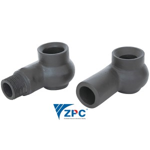 Super Purchasing for Spiral Full Cone Spray Nozzle - DN25 silicon carbide nozzle of desulphurizing tower – ZhongPeng