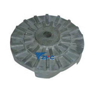 RBSiC technegol Gain (SiSiC) impeller