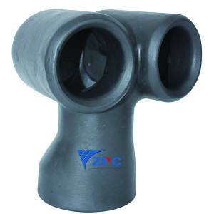 Factory Selling Silicon Carbide Bearing - DN100 Dual vortex nozzle LKL series – ZhongPeng