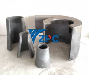 hydrocyclone silicon carbide cone lining and apex liner factory