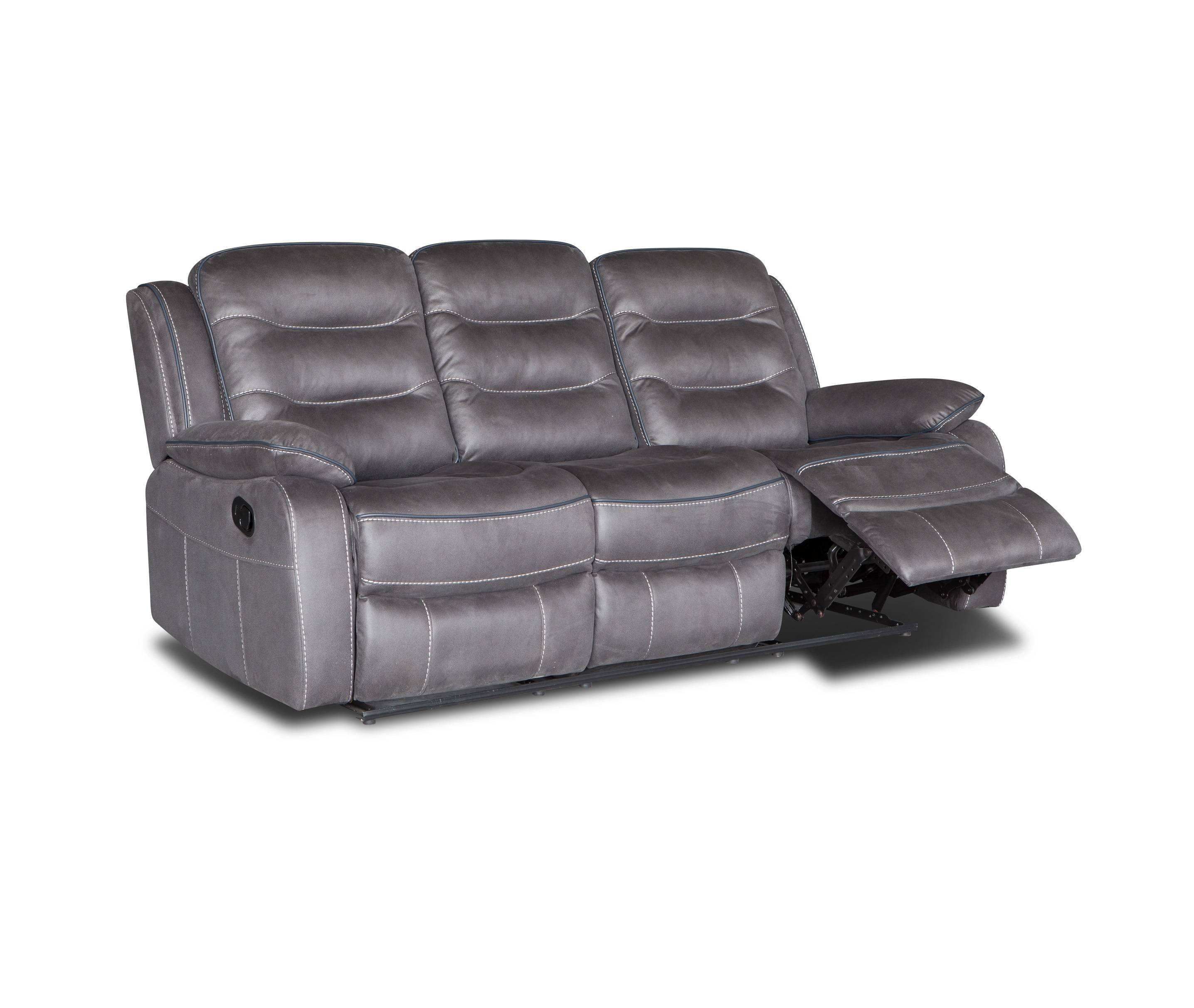 American style 3+2+1 leather power reclining sofa