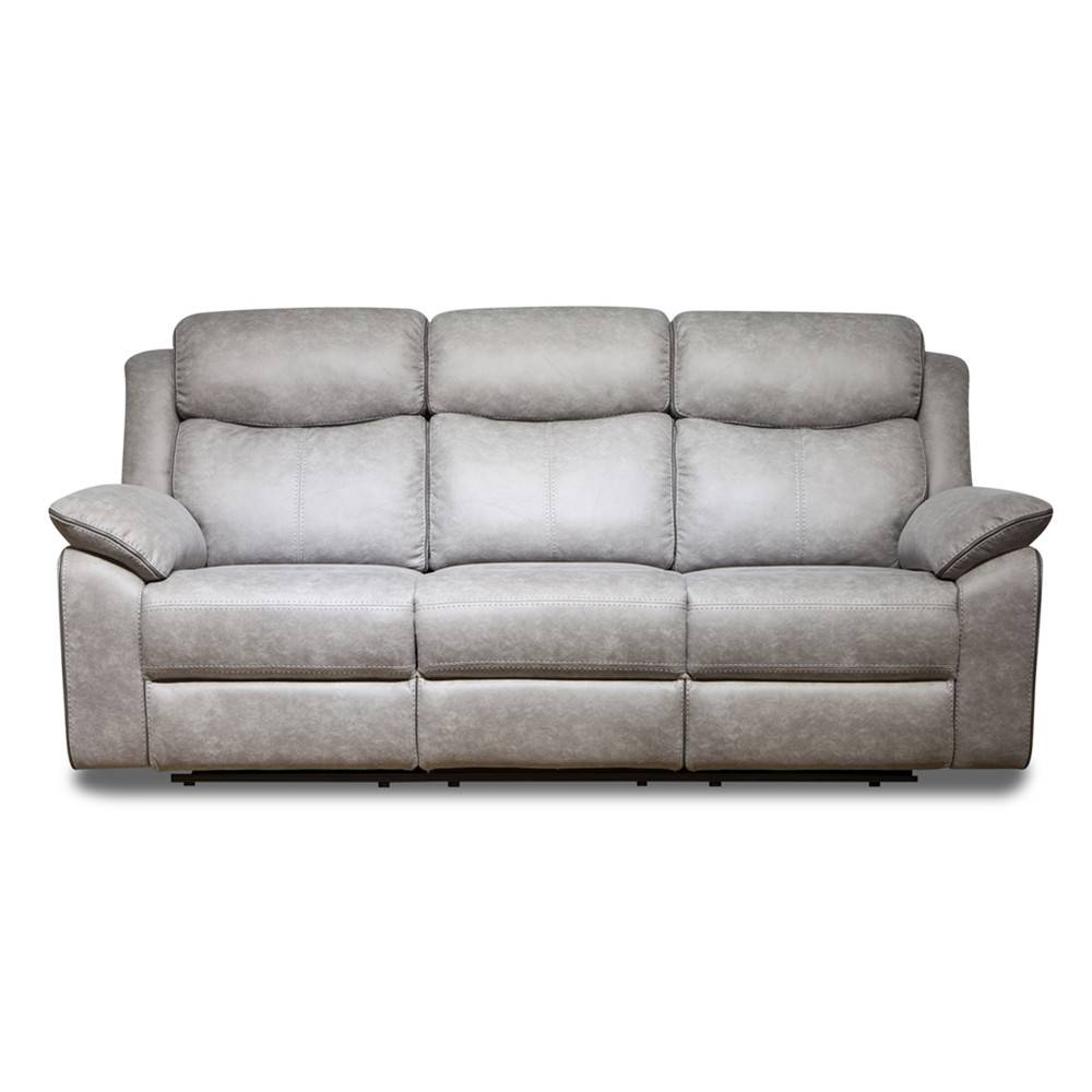 Modern and luxury living room leather electric sofa