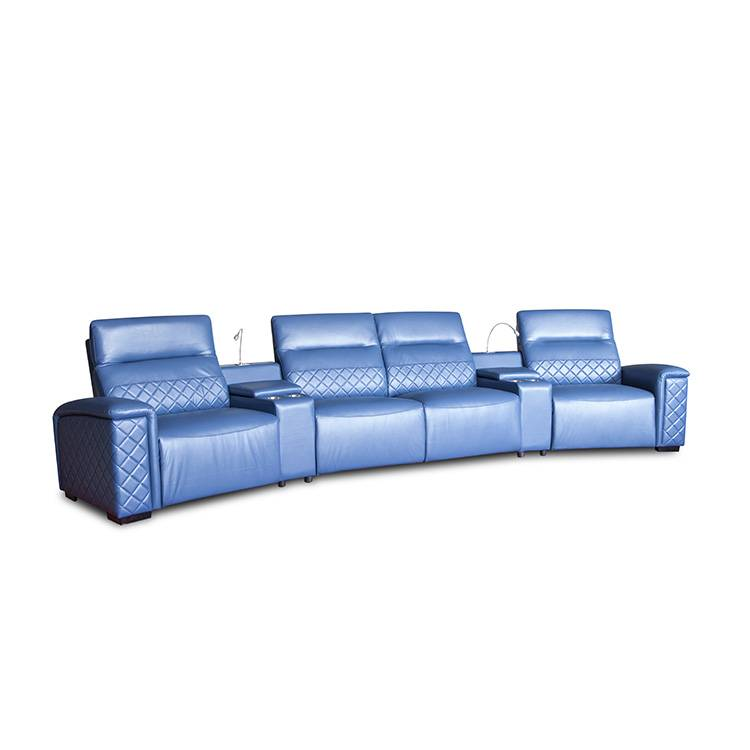 Top Suppliers Corner Leather Power loveseat -