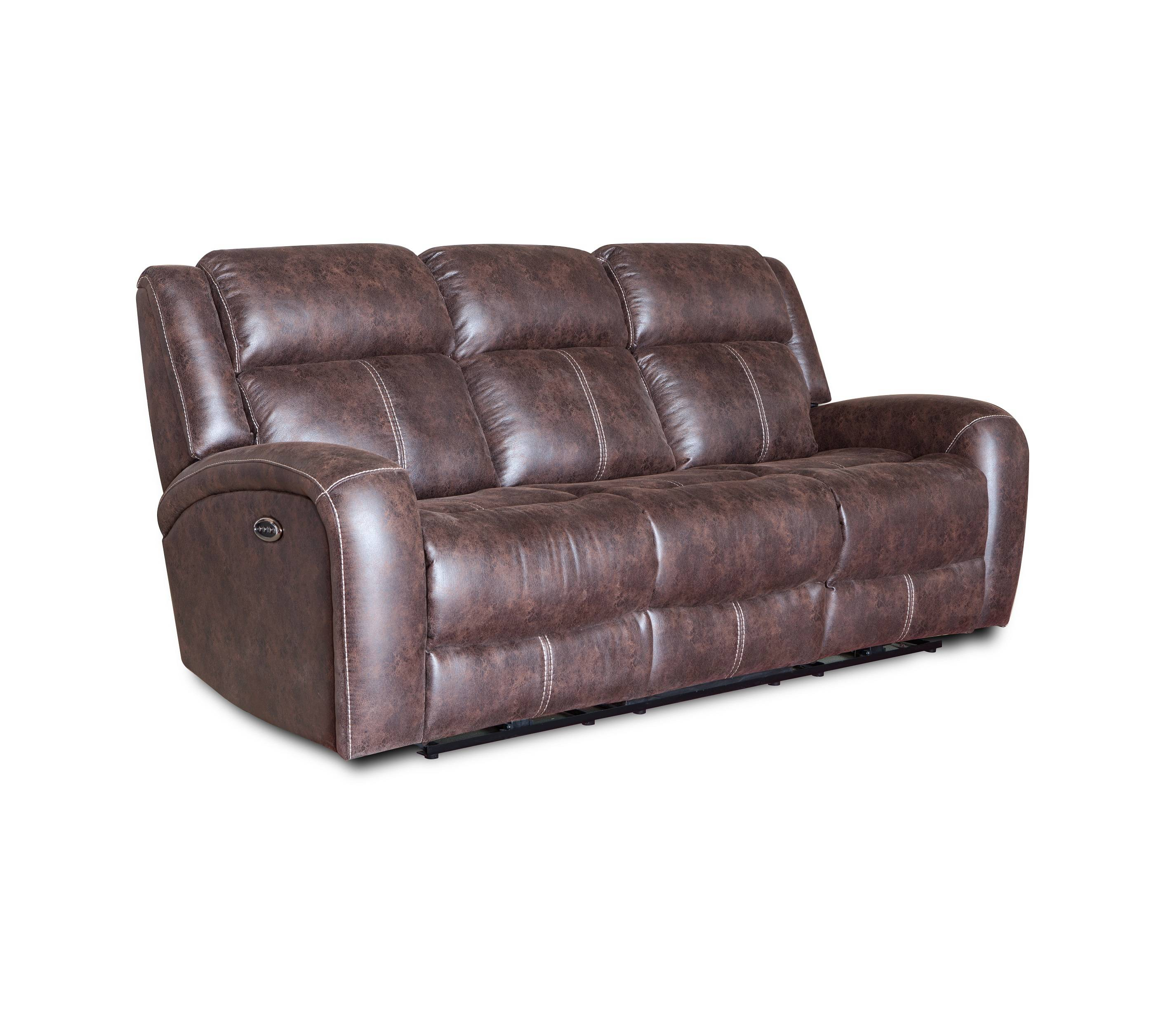Hot selling massage functional real leather recliner sofa
