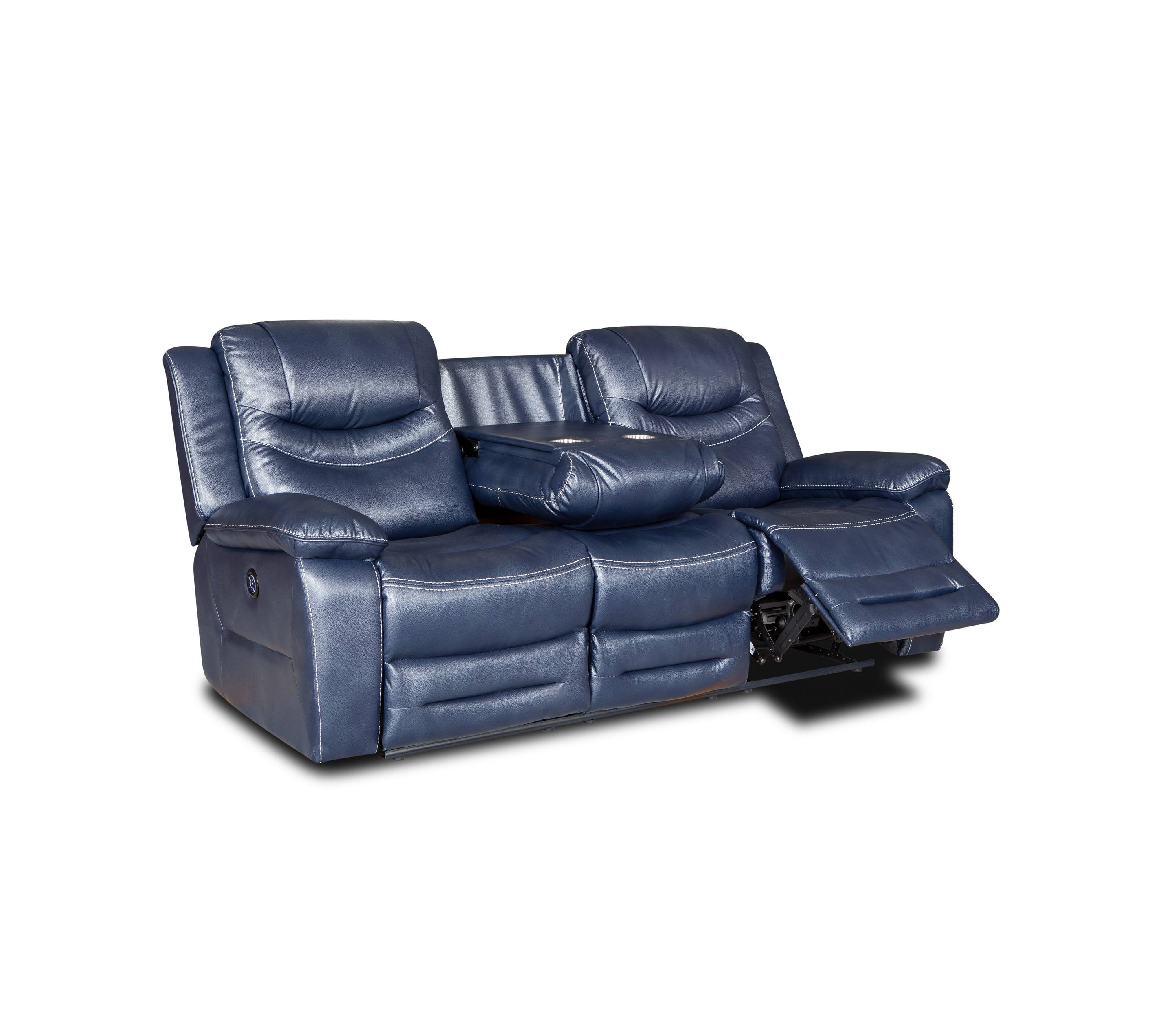 Luxury comfortable foot massage recliner sofa with cup holder