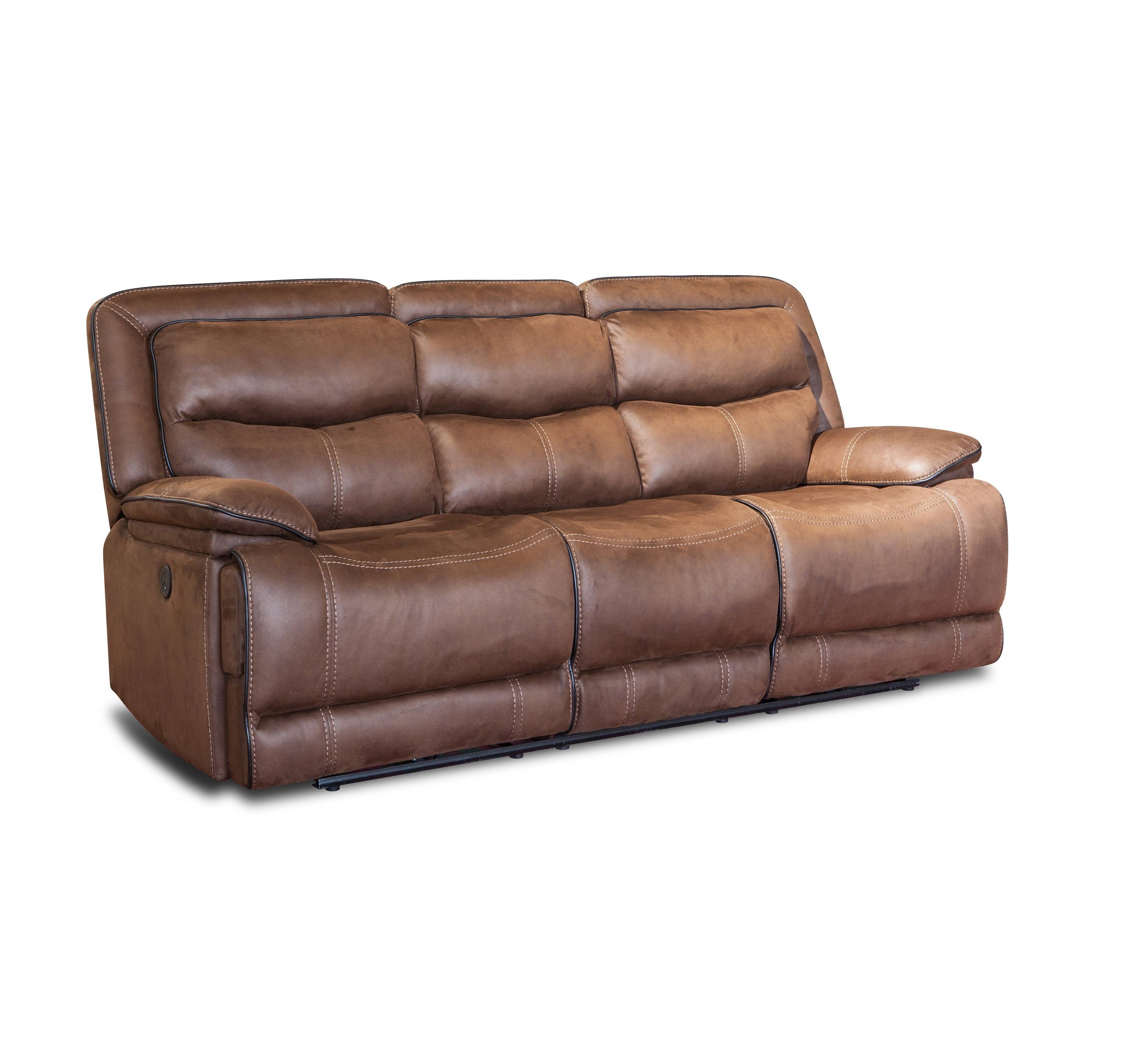 American style power electric recliner sofa leather