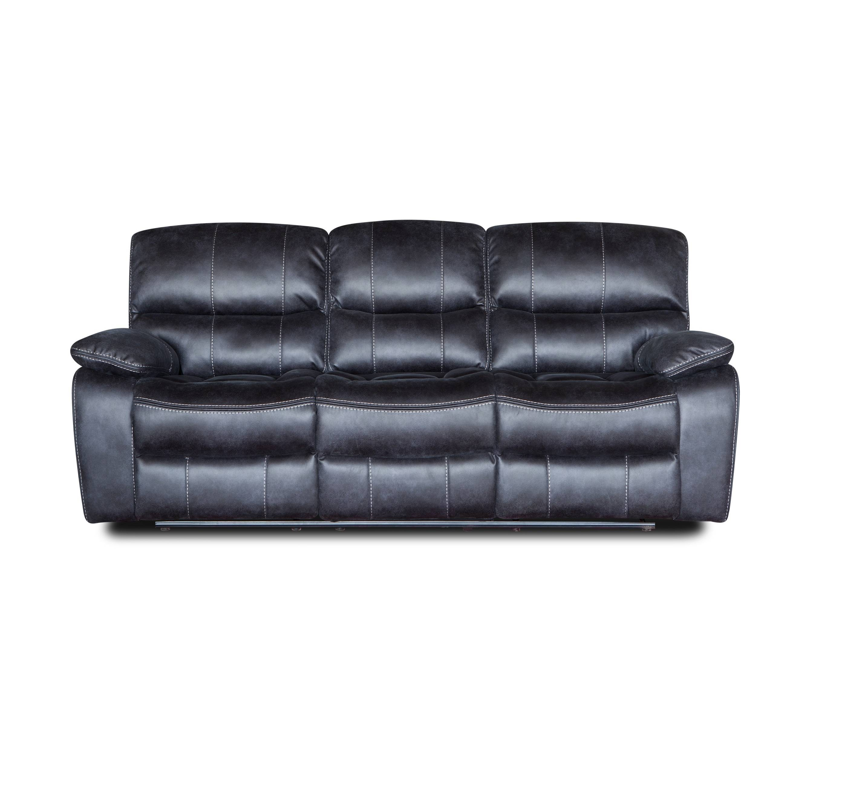 American style high quality leather recliner sofa sets for living room