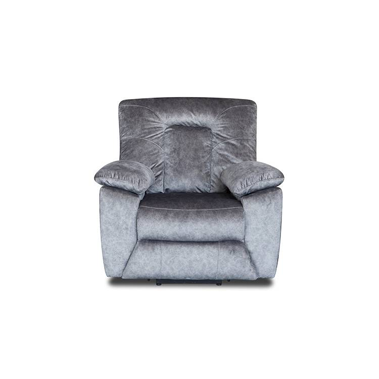 Nordic modern grey Commercial fabric recliner chair sofa