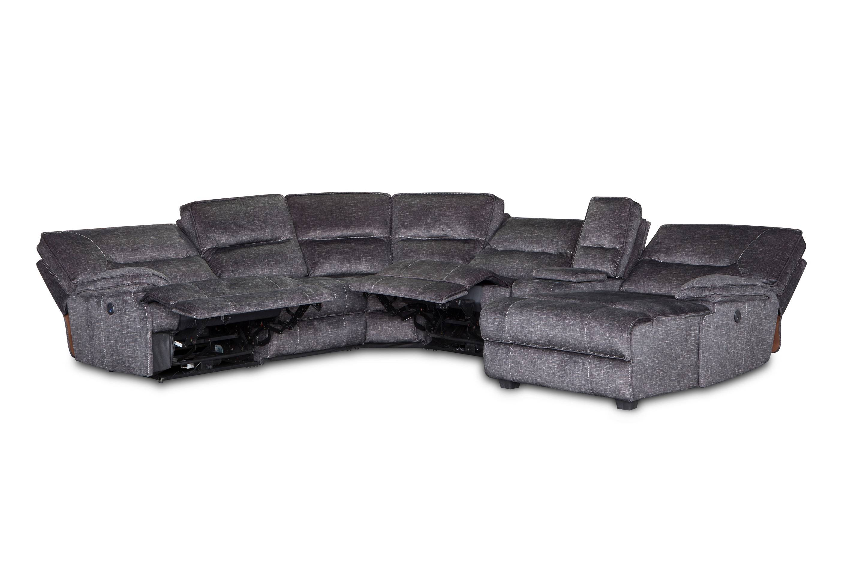 Fabric Corner Recliner Sofa