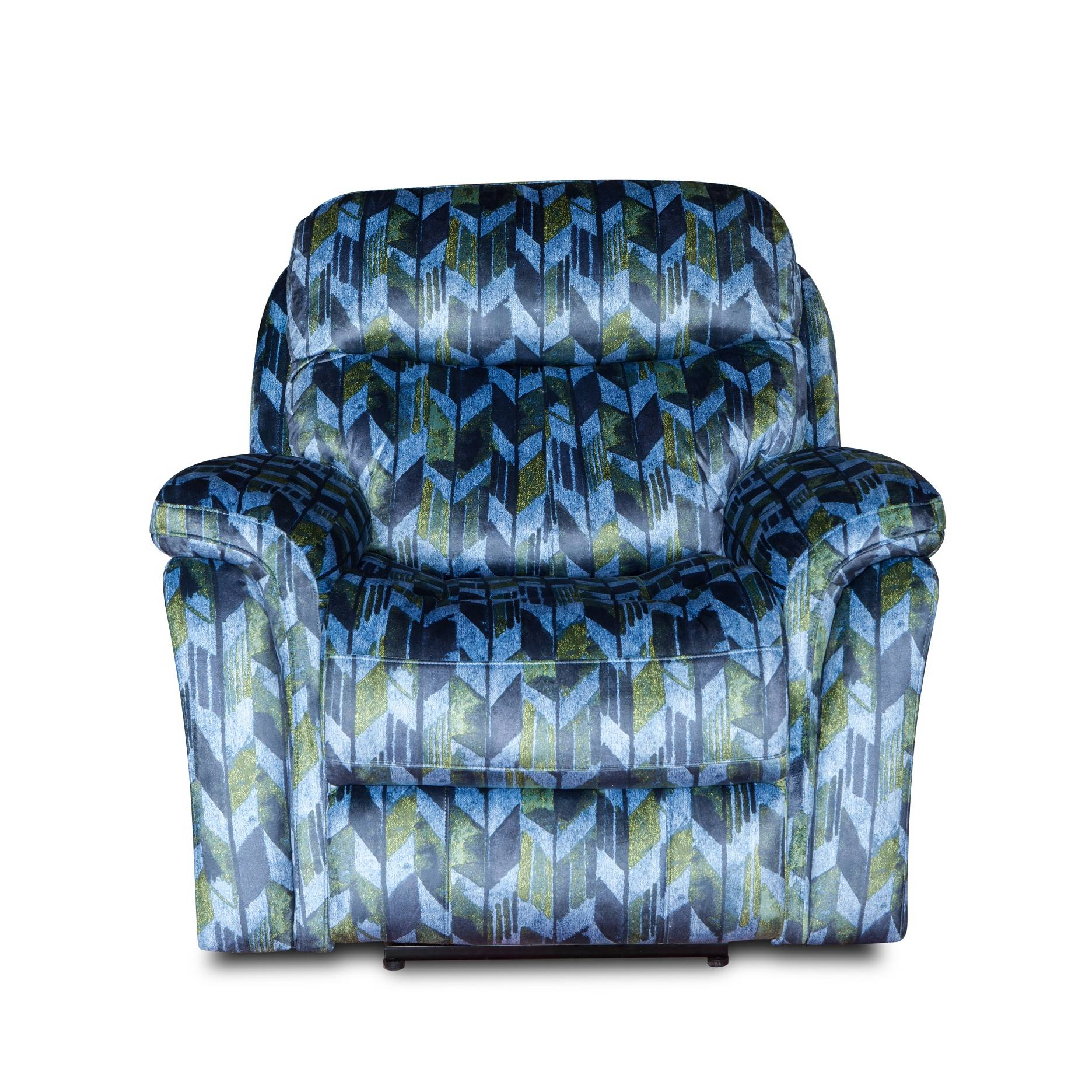 New Style Fabric Pattern Design Modern Electric Recliner Chair