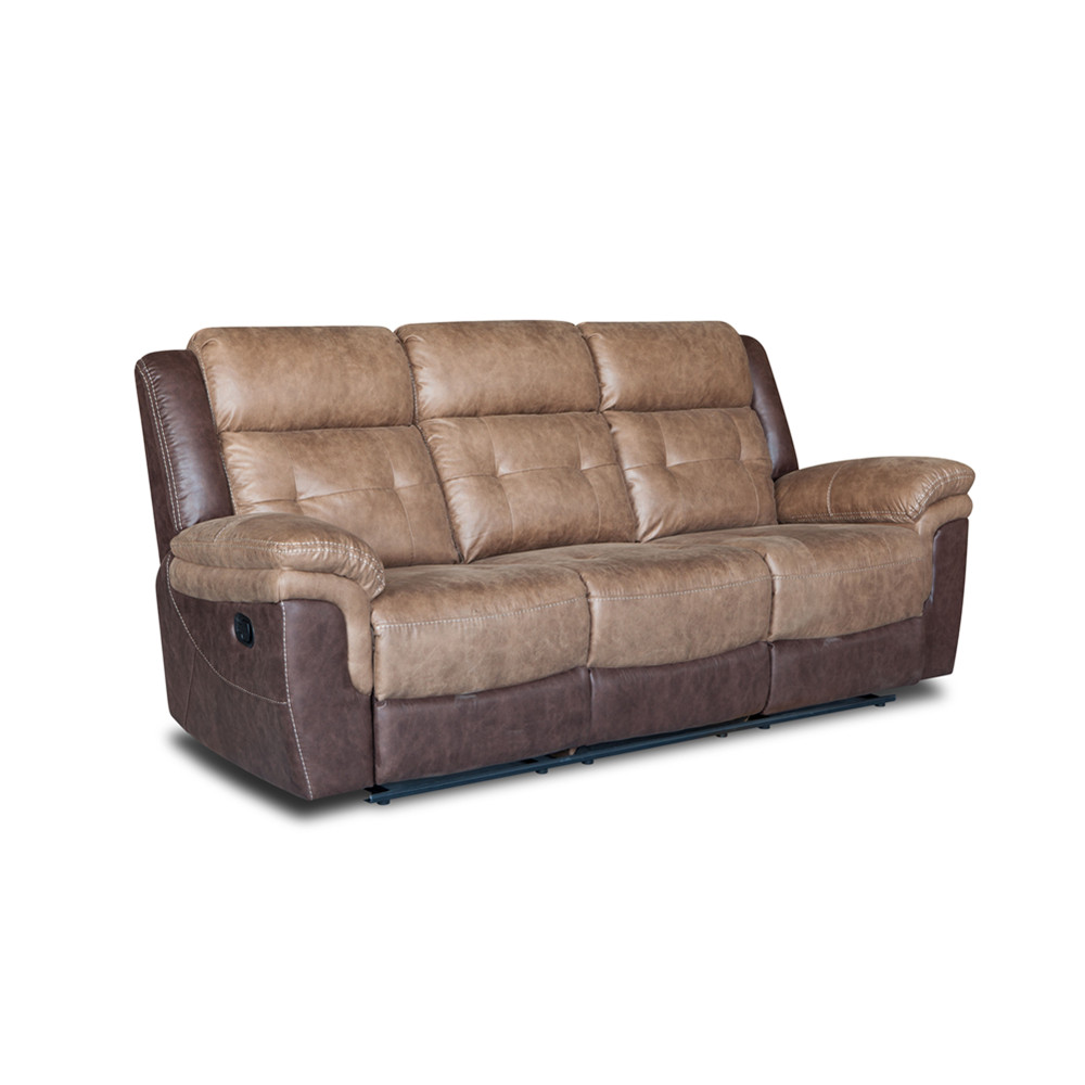 New design splicing patterns home sectional recliner sofa