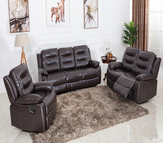 Fast delivery modern living room furniture electric leather recliner sofa Featured Image